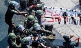 Esc�ndalo e incidentes en Chile tras la muerte de un joven mapuche