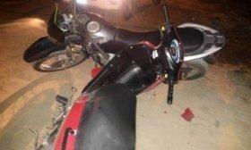 Choque de motos: un polic�a y un sospechoso heridos en persecuci�n