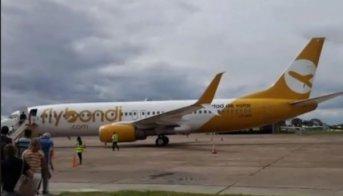 Flybondi tuvo una importante falla aérea sobrevolando Corrientes