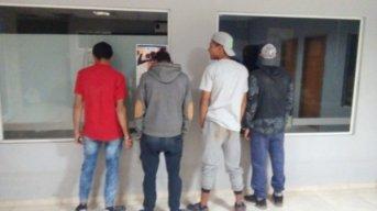 Sáenz Peña: detienen a cuatro jóvenes por el robo en una vivienda