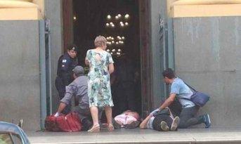 Un hombre abrió fuego en una Catedral en Brasil: cuatro muertos y tres heridos