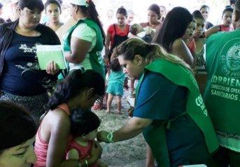 Salud Pública realizó un operativo integral en el barrio Jardín