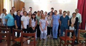 Salud realizó una capacitación para profesionales de la región 5