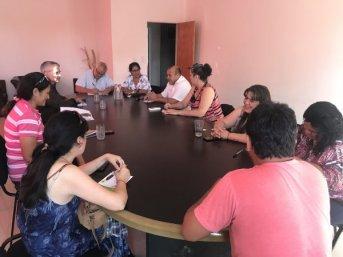 Cultura trabaja en el diseño del centro de interpretación regional de Villa Olivari