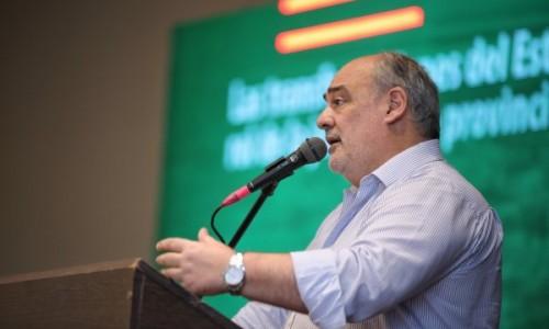 Dura crítica a la &ldquo;irresponsable&rdquo; oposición en la asunción de Ricardo Colombi como presidente de la UCR provincial<br />