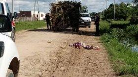 Goya: Empleado municipal cayó desde arriba de un camión y murió aplastado por las ruedas traseras