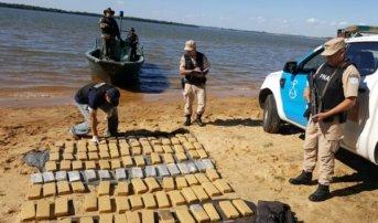Incautaron más de 100 kilos de marihuana: La mayor parte de la droga había sido enfriada en Ituzaingó
