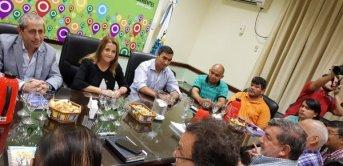 <p>Empezó la primer reunión entre el Gobierno y sindicatos docentes</p>