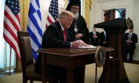 Donald Trump don� un trimestre de su sueldo al Departamento de Seguridad Nacional
