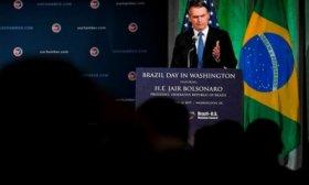 Jair Bolsonaro realiz� una inesperada visita a la CIA en medio de su gira por Estados Unidos