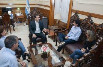 Dirigentes del autonomismo visitaron al gobernador Valdés