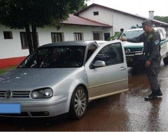 Gendarmería incautó un auto y cocaína proveniente de Brasil