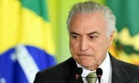 El ex presidente brasile�o Michel Temer fue arrestado por el caso Lava Jato