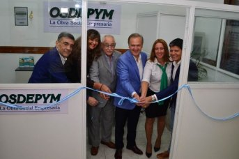 OSDEPYM inauguró su sucursal en Corrientes