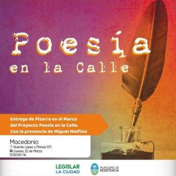"""Resistencia: Se viene este 21 de marzo """"Poesía en la Calle"""", que busca difundir la producción de artistas locales"""