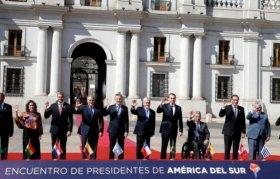 Ocho países firmaron el acta constitutiva del Prosur