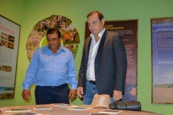 En Concepción, Valdés entregó herramientas y anunció obras para fortalecer el perfil turístico de