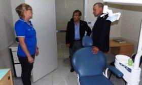 Cardozo recorri� obras en el interior y planific� otras inversiones sanitarias
