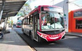 El lunes el servicio de transporte urbano funcionará normalmente