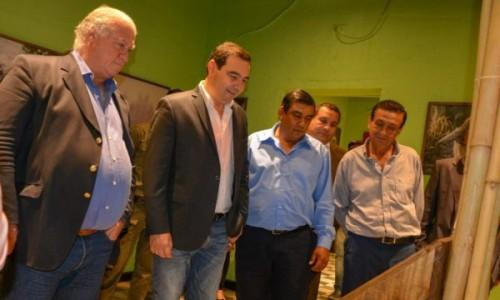Valdés desarrolló cargada agenda de trabajo en su visita a Concepción