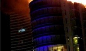Incendio en un hotel de lujo en Punta del Este