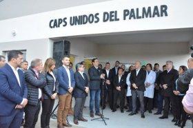 Inauguraron en Paso de los Libres el sector de Neonatología del Hospital San José y un CAPS en el Paraje El Palmar