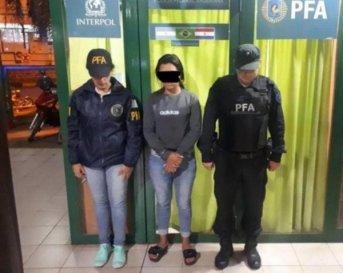 Iguazú: detuvieron a una joven con pedido de captura por narcotráfico