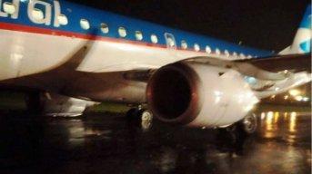 Un avión de Austral despistó y no salió desde Resistencia