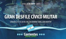 El Gobierno Provincial prepara mega desfile para el 25 de Mayo