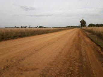 Acceso a paraje El Zapallo: arranca enripiado