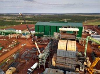 Avanza a buen ritmo la construcción de la central térmica Garruchos de la compañía FRESA