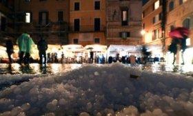Las fuertes tormentas en Italia dejan 18 heridos por contusiones