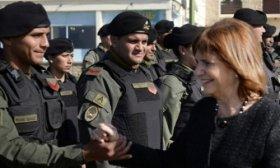 Patricia Bullrich: Gendarmer�a es la instituci�n m�s valorada del pa�s, m�s que la educaci�n p�blica