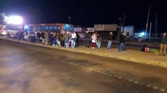 Transporte interurbano: No hay servicio de colectivos Chaco-Corrientes