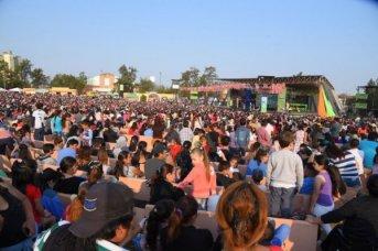 Valdés acompañó el multitudinario festejo por el Día del Niño
