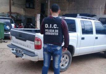 En Caá Catí, secuestran una camioneta vinculada con una estafa