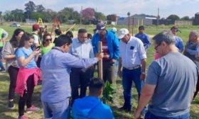La Municipalidad plant� cien nuevos ejemplares de �rboles aut�ctonos en los barrios Concepci�n y Alta Gracia