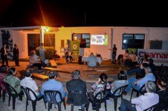 Explicaron a vecinos la conveniencia de la estación transformadora que se proyecta en el Ex Aeroclub