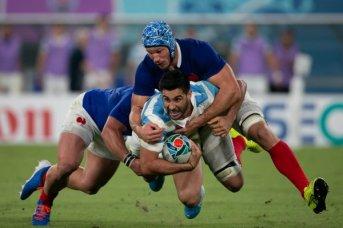 Los Pumas cayeron ante Francia en el debut mundialista