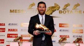 Messi recibió su sexto Botín de Oro