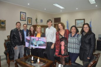 La ministra Benítez recibió a referente del programa Entorno Creativo
