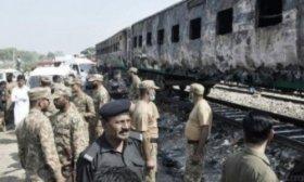 Ascienden a 73 los muertos por la explosi�n de una garrafa de gas en un tren