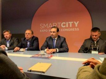 Valdés y Tassano participan de la Exposición Mundial de Smart Cities