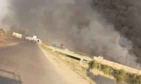 Golpe a�reo a una base en Bagdad que alberga tropas de EE.UU.: cuatro iraqu�es heridos