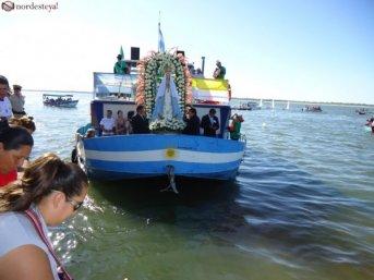 Exclusivo: Todo listo para el 5º desfile náutico de la Virgen Peregrina de Itatí