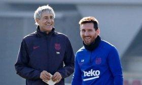Enamorado del juego de Messi: Es un futbolista muy especial