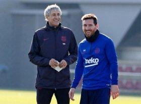 Enamorado del juego de Messi: