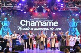 Comenzó la fiesta del Chamamé: