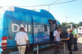 Comenzó el operativo de DNI en la Fiesta Nacional del Chamamé