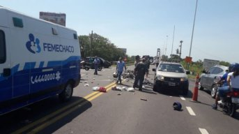 Siniestro fatal en el puente General Belgrano